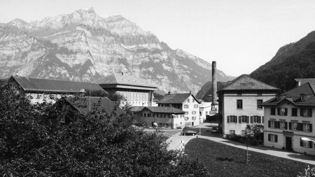 Archivaufnahme vom Hänggiturm.