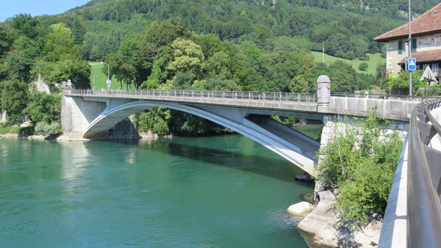 Brücke über die Aare