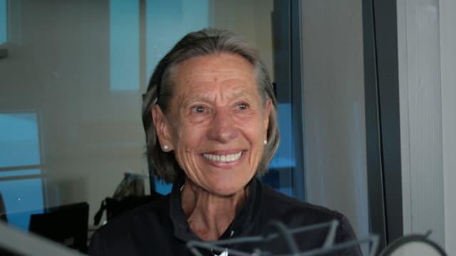 Ursula Jones, die Tochter des Lucerne-Festival Mitbegründers Walter Strebi