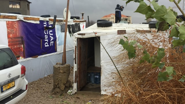 Das Flüchtlingslager Saadnayal 019 in der Bekaa Ebene.