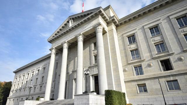 vista sin il bajetg dal Tribunal federal a Losanna
