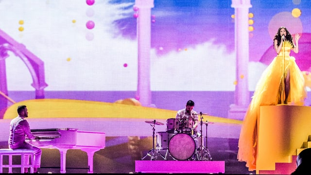 Timebelle auf der Bühne