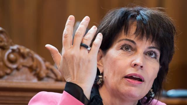 Cussegliera federala Doris Leuthard.