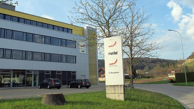 Hauptsitz von Zehnder in Gränichen