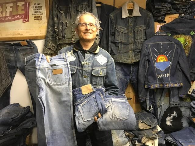 Ruedi Karrer und seine Jeans