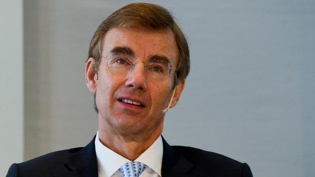 Portrait des Schindler-Konzernchefs Jürgen Tinggren