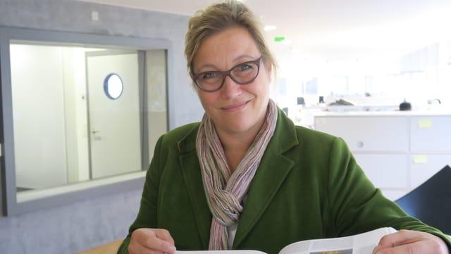 Porträt Marion Sauter