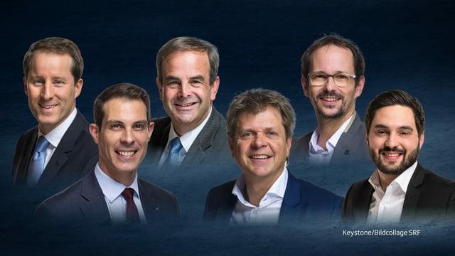 6 Partei-Präsidenten