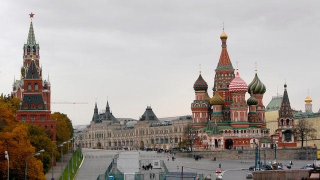 Stadtzentrum von Moskau