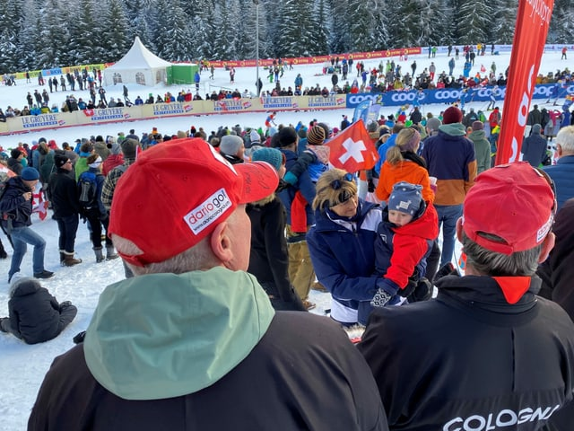 Nagin è memia pitschen per visitar il Tour de Ski.