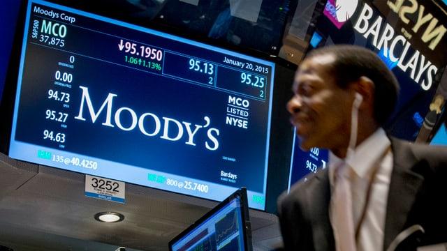 Ticher da Moody's a la bursa da New York.
