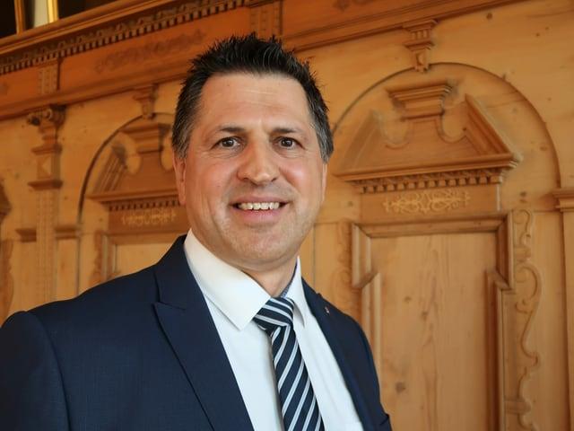 Der Schwyzer CVP-Politiker Sandro Patierno.