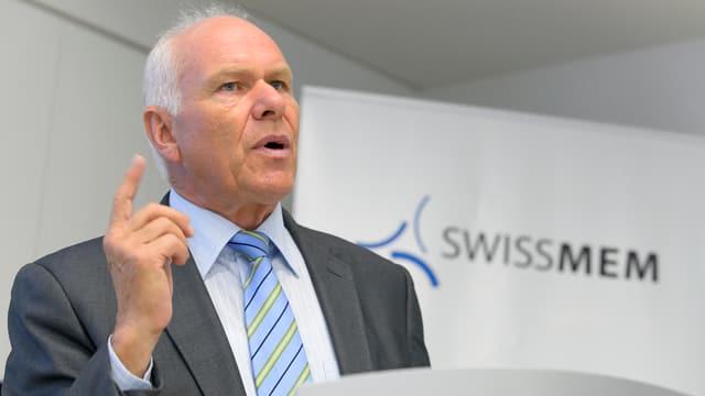 Il schef da Swissmem Hans Hess.