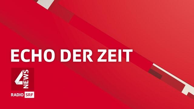Logo-Schriftzug der Sendung «Echo der Zeit»