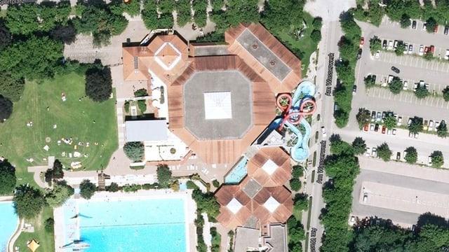 Luftaufnahme Laguna