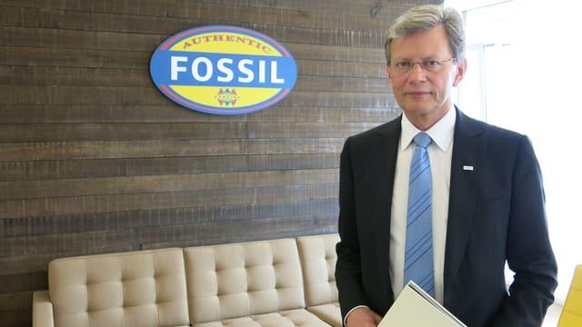 Martin Frey ist Europa-Chef des Uhren- und Modeunternehmens Fossil.