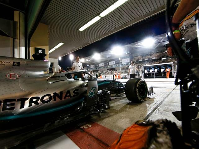 Formel-1-Bolide.
