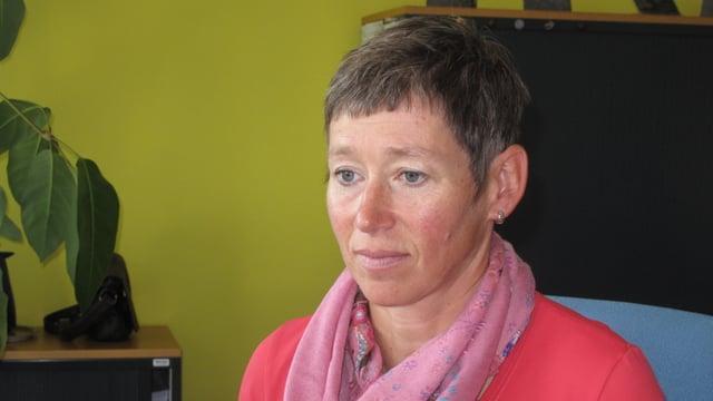 Portrait der Alpnacher Gemeindepräsidentin, Kathrin Dönni.