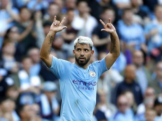 Sergio Agüero wird in der nächsten Saison nicht mehr für Manchester City auf Torjagd gehen.
