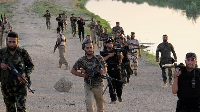 Schiitische Milizionäre
