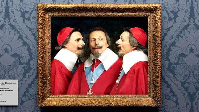 Video «Bilder allein zuhaus: Dreifaches Porträt von Richelieu (29/30)» abspielen