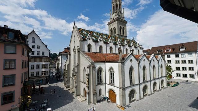 Die Kirche St. Laurenzen in St. Gallen.