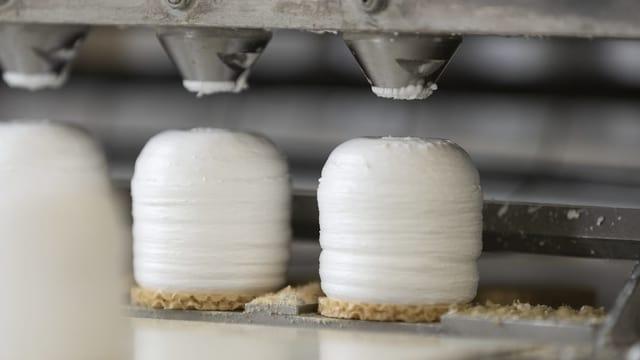 Maschine für die Schaummasse der Mohrenköpfe