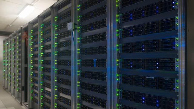 Data Centre Symbolbild.