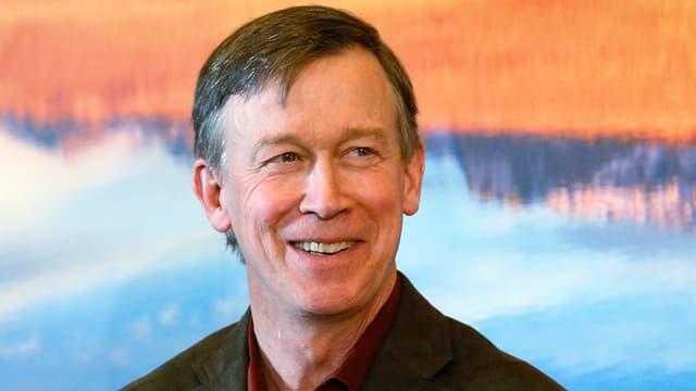 John Hickenlooper, Gouverneur von Colorado.