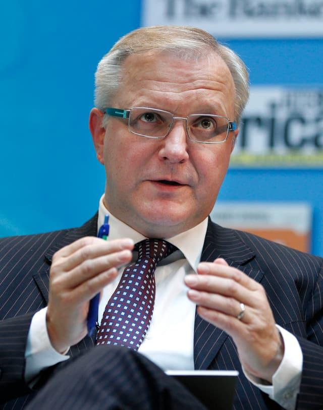 Portrait von Olli Rehn