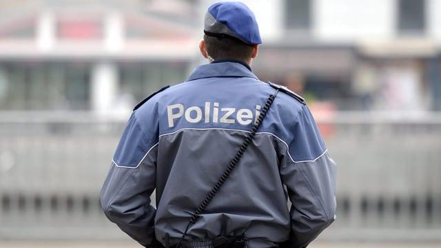 Polizist in Zürich