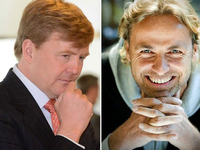 Kronprinz Willem-Alexander und John Ewbank