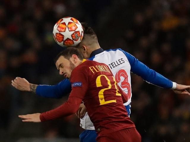 Romas Florenzi gegen Portos Telles.