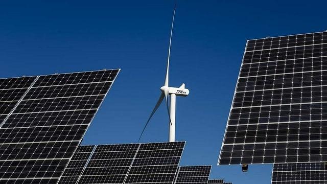 Implants solars e da vent.
