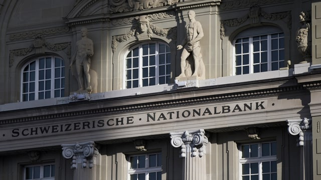 Fassade Schweizer Nationalbank