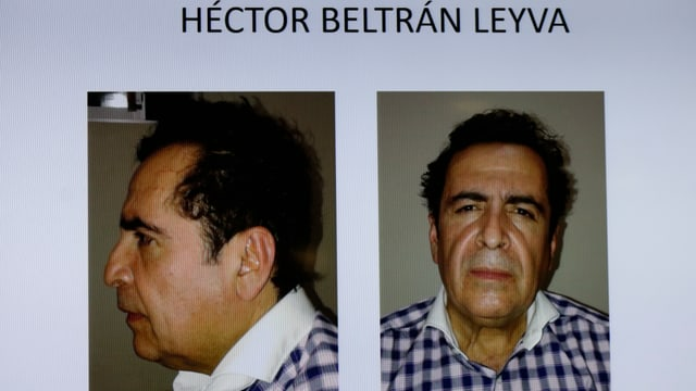 Fotos von Kartell-Chef Héctor Beltrán Leyva alias «El H»