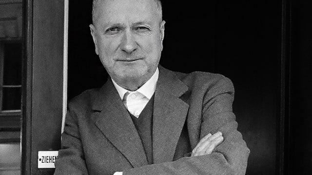 Porträt von Helmut Peschina.