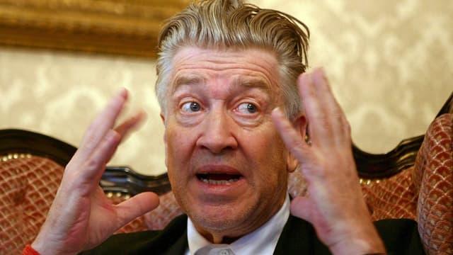 David Lynch, il reschissur da la seria da cult Twin Peaks.