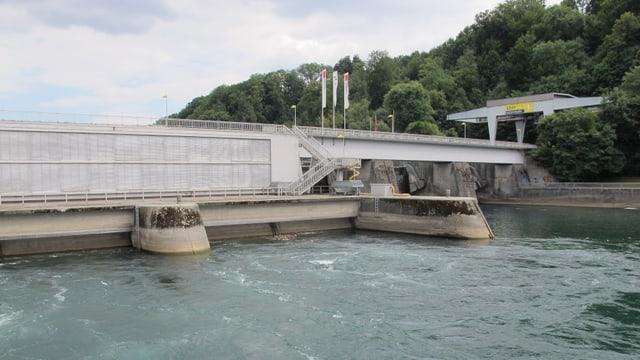 Wasserkraftwerk der Stadt Schaffhausen