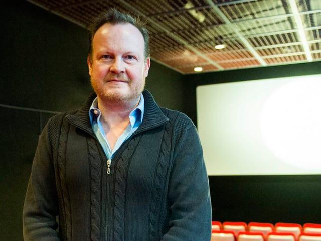 Portrait des künstlerischen Direktors des FIFF Thierry Jobin.