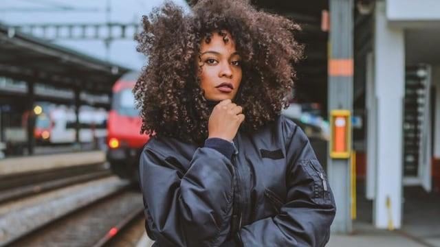 Danitsa: 23-jährige Sängerin aus Genf.