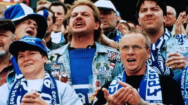 Für Hans Polak und seine Freunde vom Fanclub «Dios Knappen Gelsenkirchen» gibt's im Leben nur Eines: den FC Schalke 04.