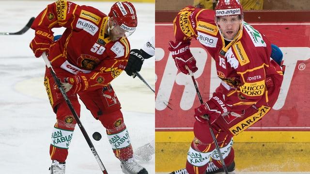 Anton Gustafsson und Kyle Wilson.