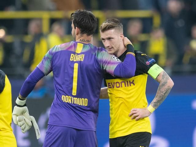 Roman Bürki fliegt nach Mailand, Marco Reus nicht.