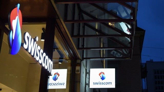 Logo da la Swisscom.