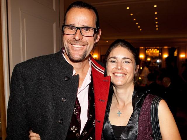 Heinz und Evelyne Julen