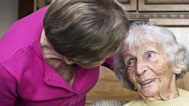Die Würde der Altenpflegenden