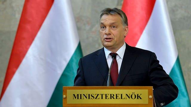 Viktor Orban prim-minister dal Ungaria e schef da la partida Fidesz.