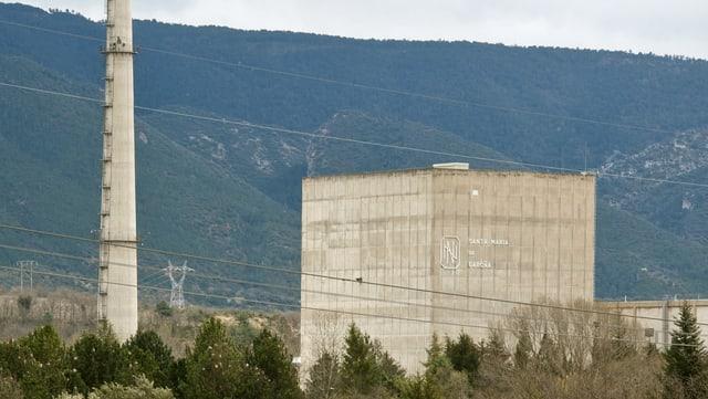 Der Atomreaktor Santa Maria de Garona