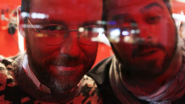 So sehen Nik Hartmann (links) und Marco Thomann nach 11 Tagen am Zurich Film Festival aus.